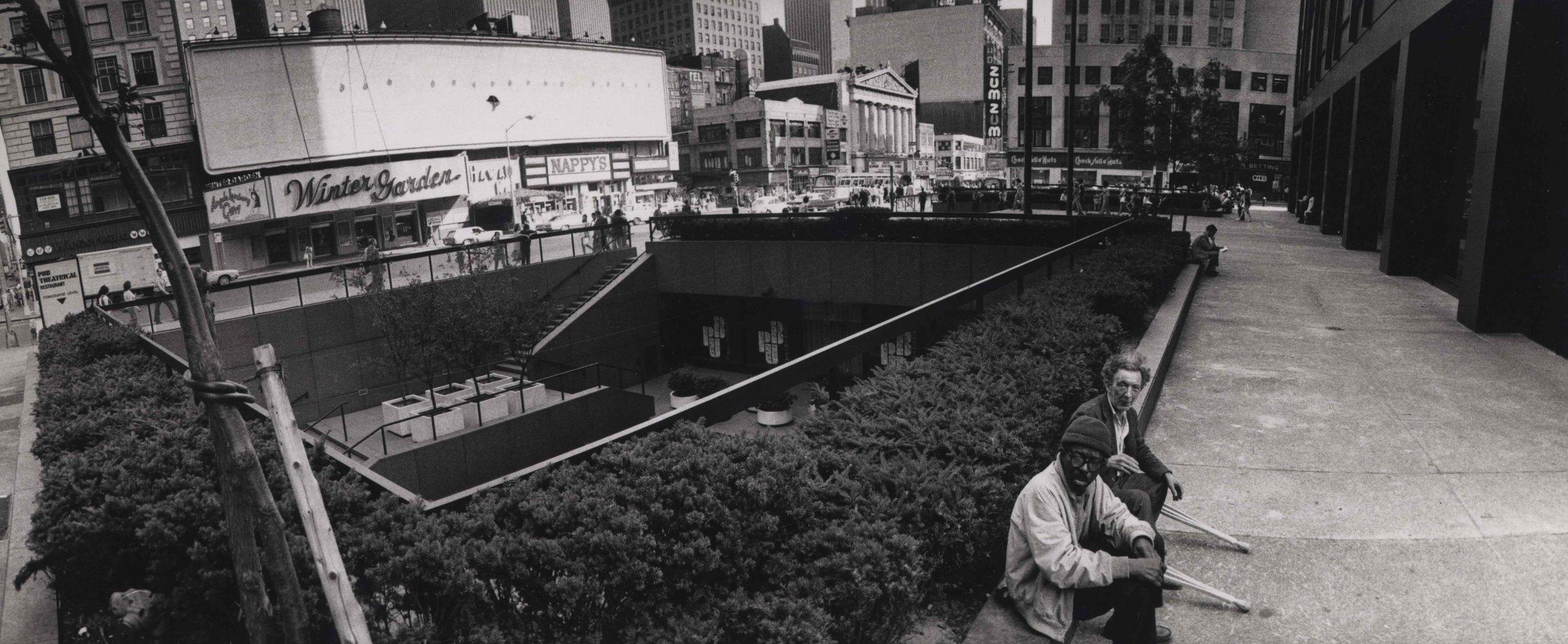 15_94_Two old men sitting by sunken plaza_Dan Wynn Archive.jpeg