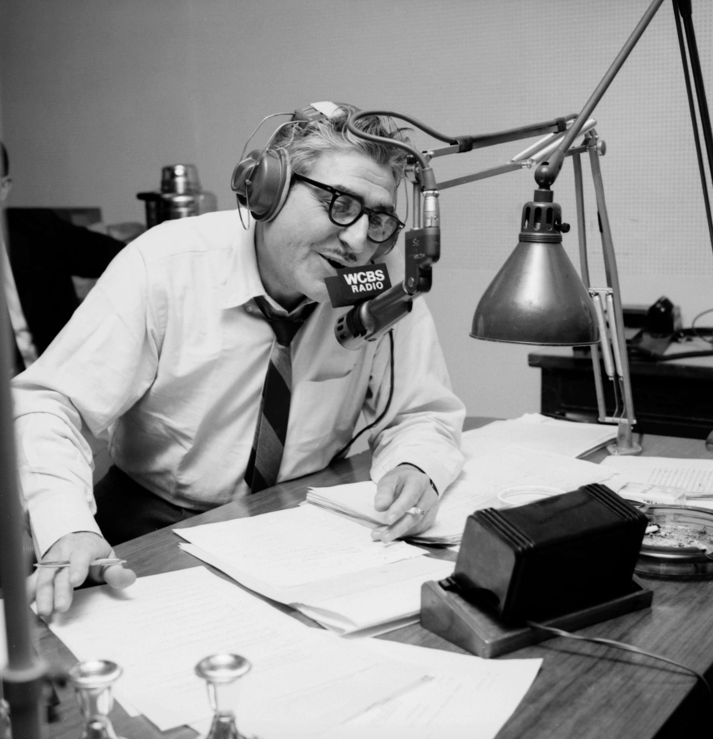 Jack Sterling, WCBS Radio, NY, 1964