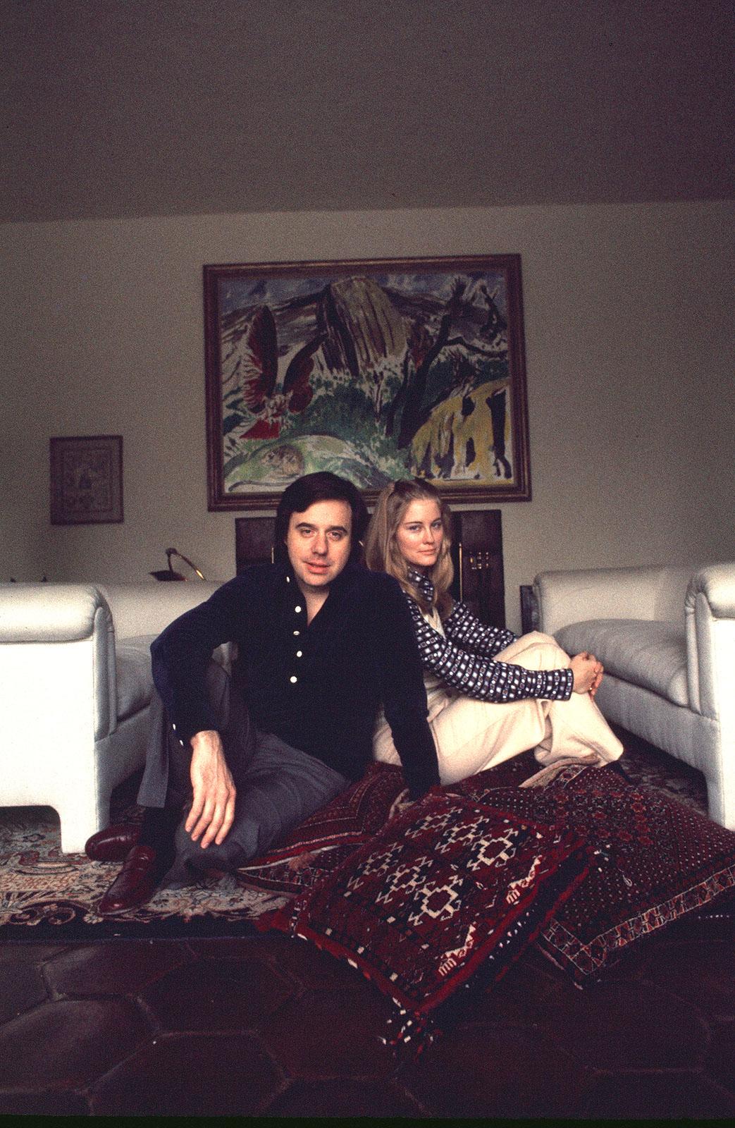 Peter Bogdonavich and Cybil Shepherd