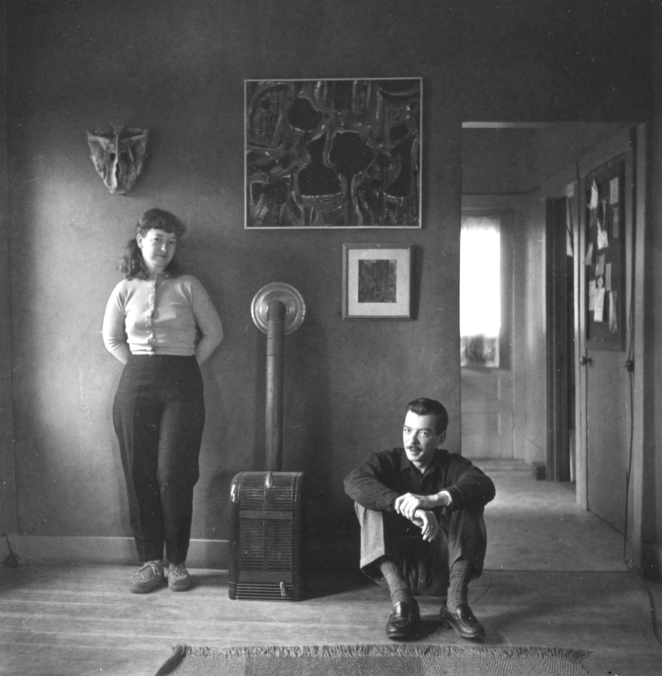Weldon and Ann Kees, California, 1953© Dan Wynn Archive
