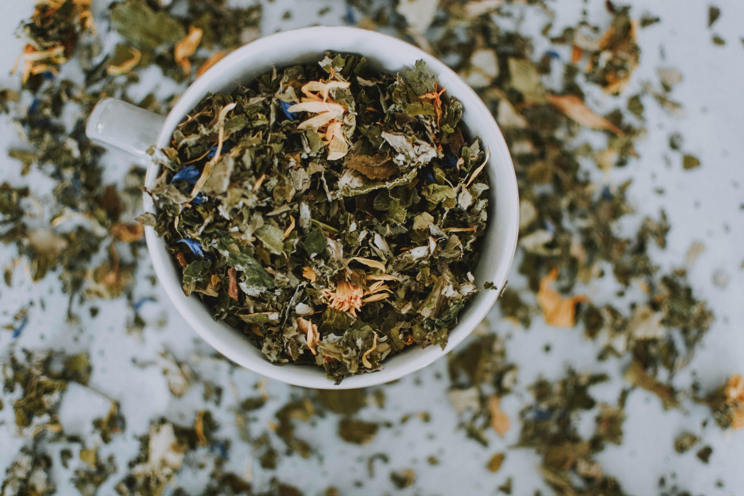 Liver cleansing herbal tea