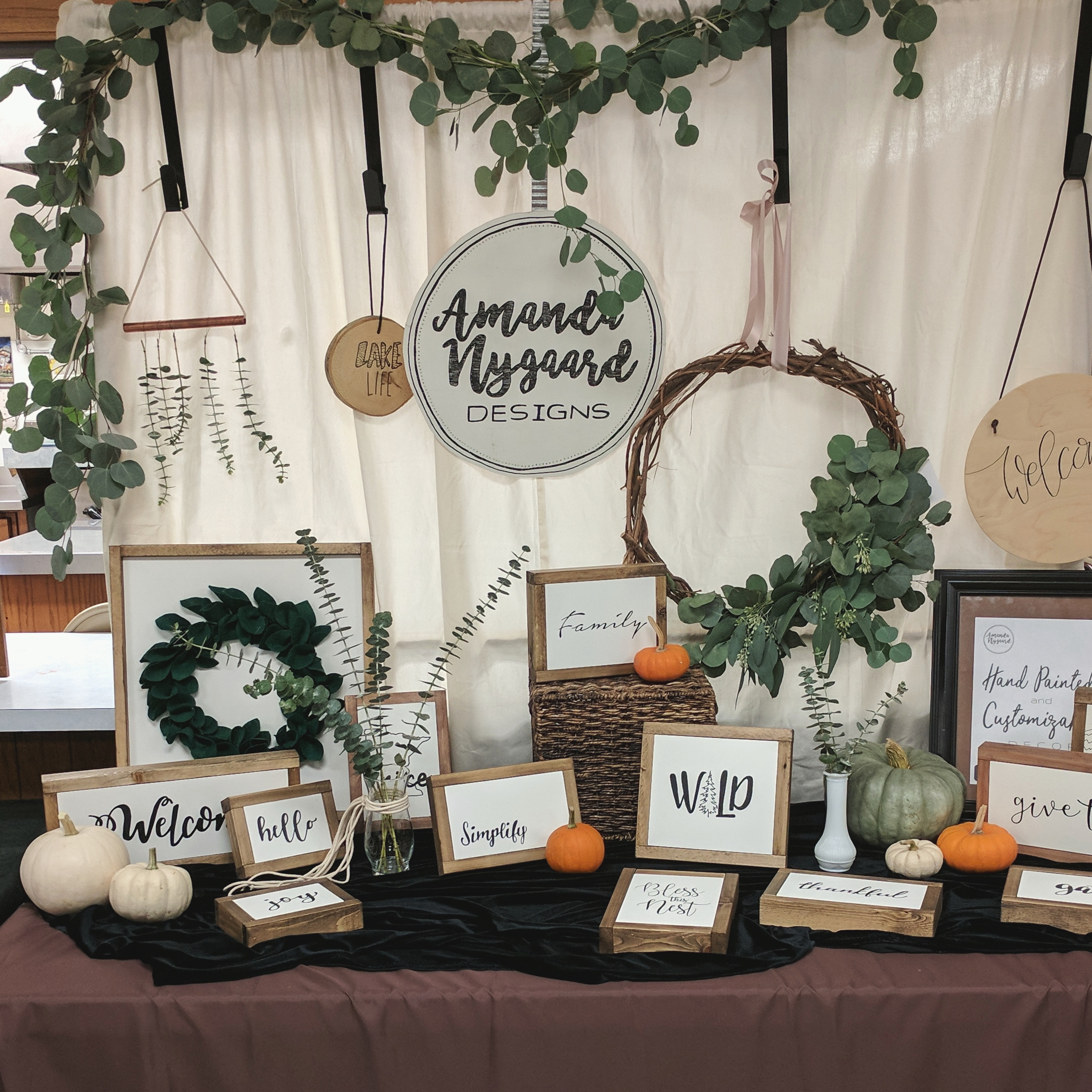 Craft Fair Booth Display
