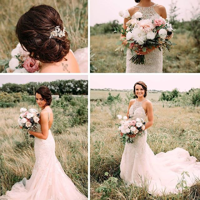 Earlier this summer Cali asked me to create the bridal party floral arrangements for her wedding and I was very excited to work with her. She is a former student of mine and always had great fashion sense so I knew her wedding day choices for color and style was not going to disappoint.  At 39 weeks pregnant, I wrapped up my 2018 season with their wedding and she looked beautiful. A very belated congrats to CaliJo and Brody.  If you are interested in wedding flowers for 2019, please send me a message!  Photography: @michellenelsonphoto