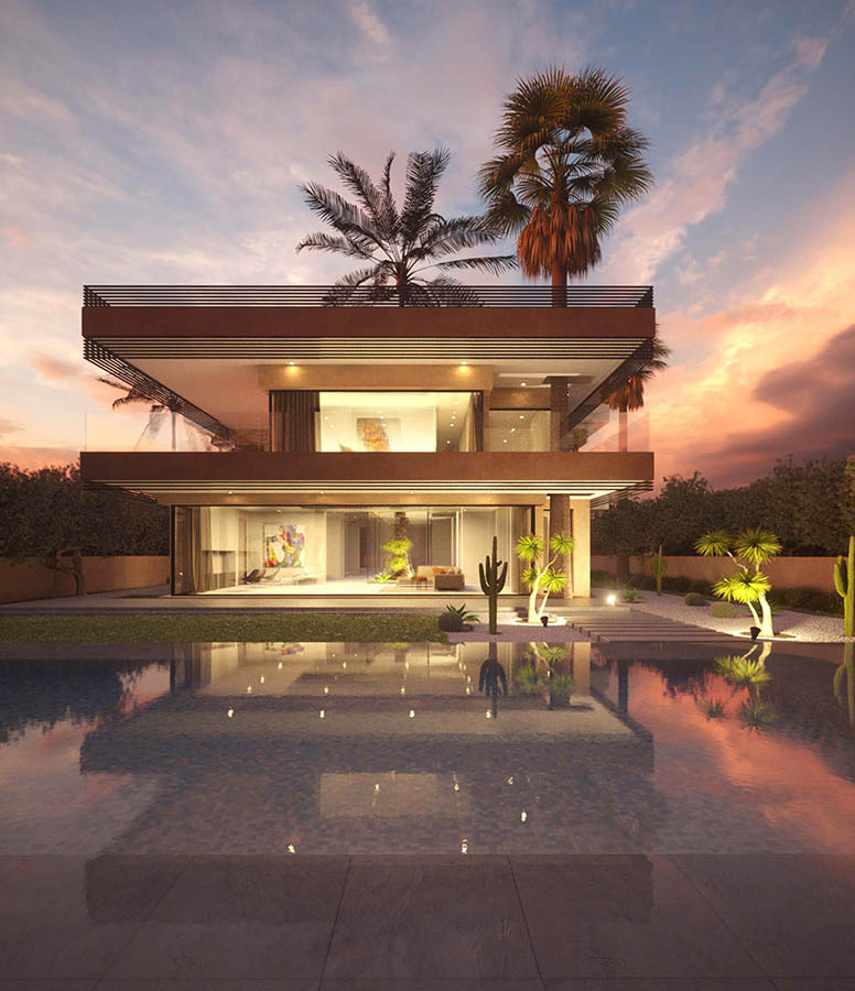 3d rendering by Samy Vincent