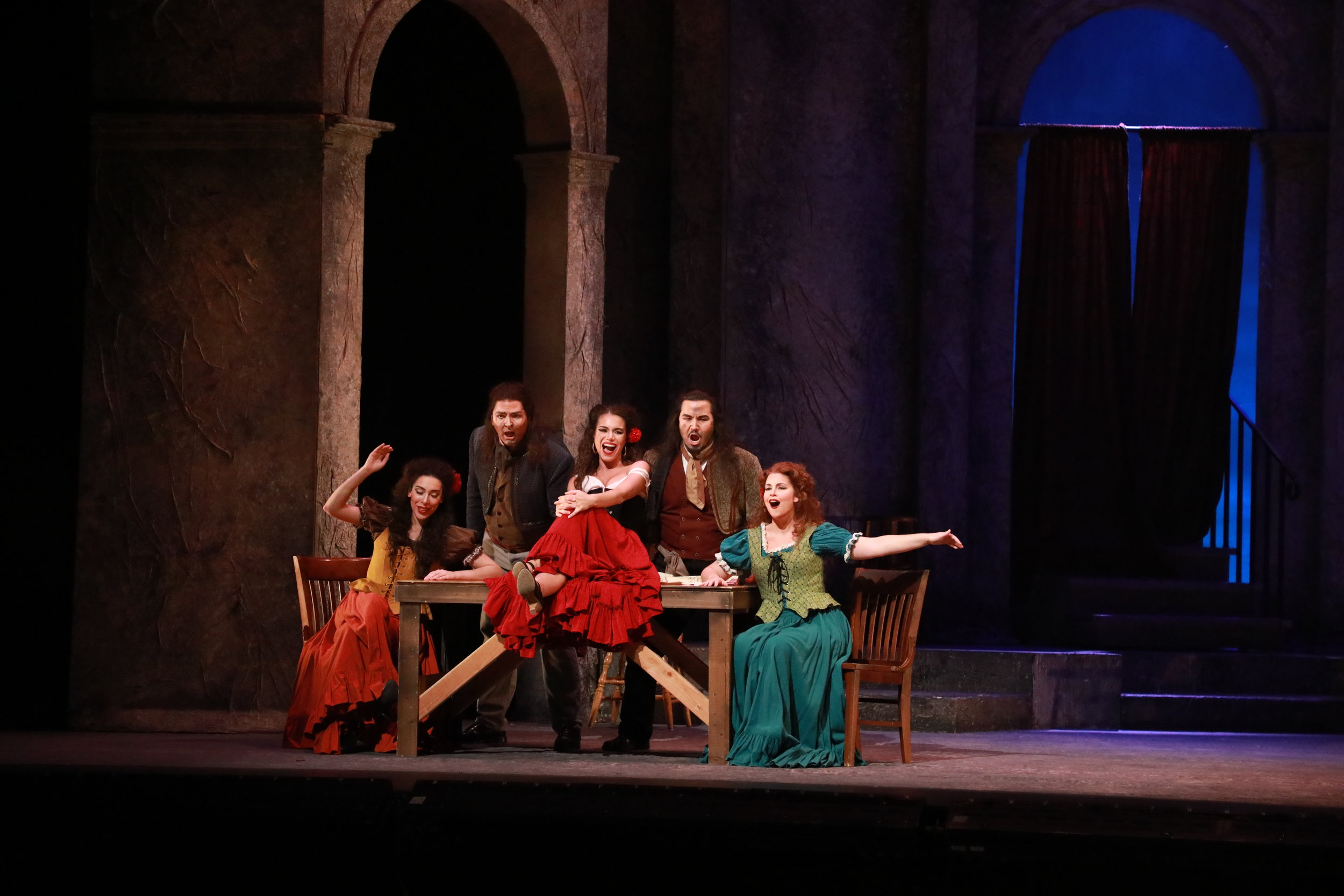 As Frasquita ( Carmen ) with Nashville Opera