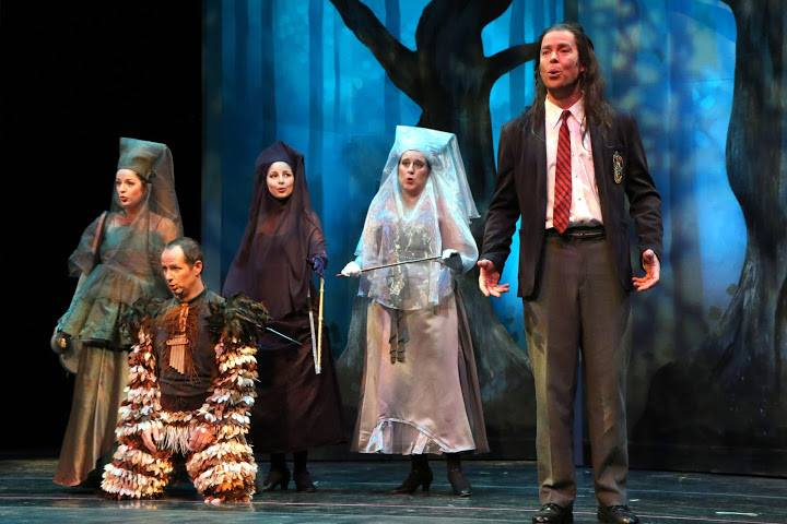 As First Lady ( Die Zauberflöte ) with Inland Northwest Opera