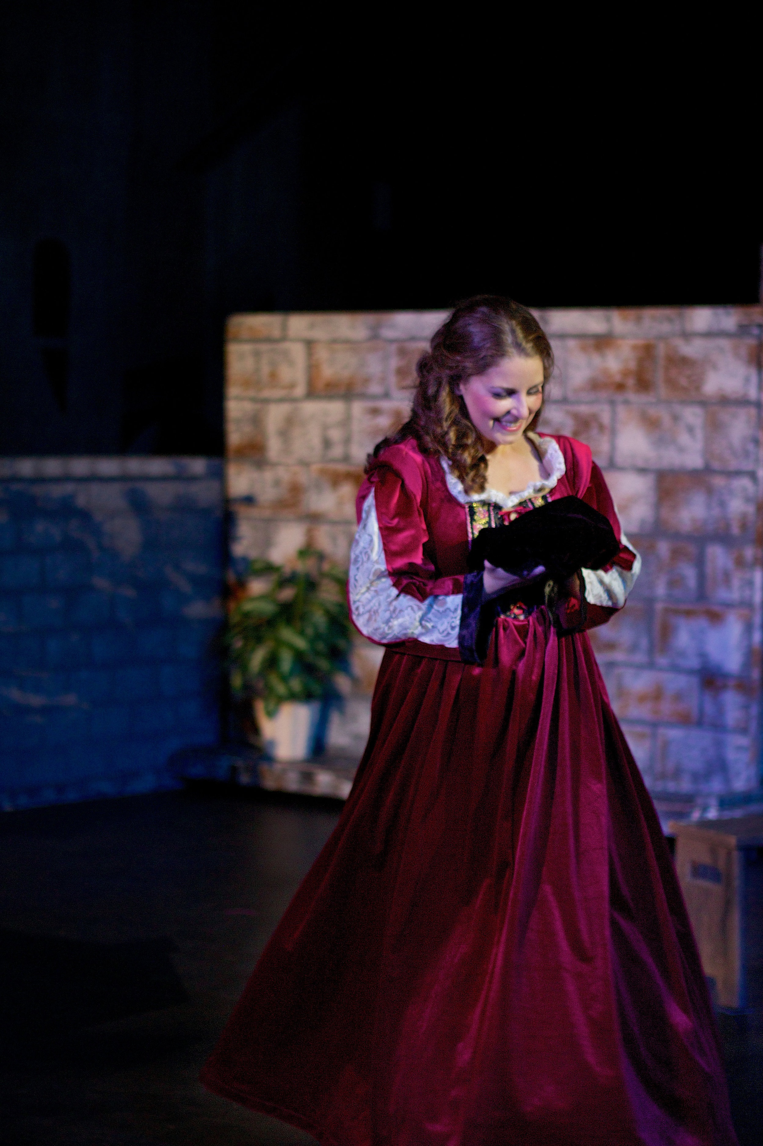 As Gilda ( Rigoletto ) with Pacific Northwest Opera