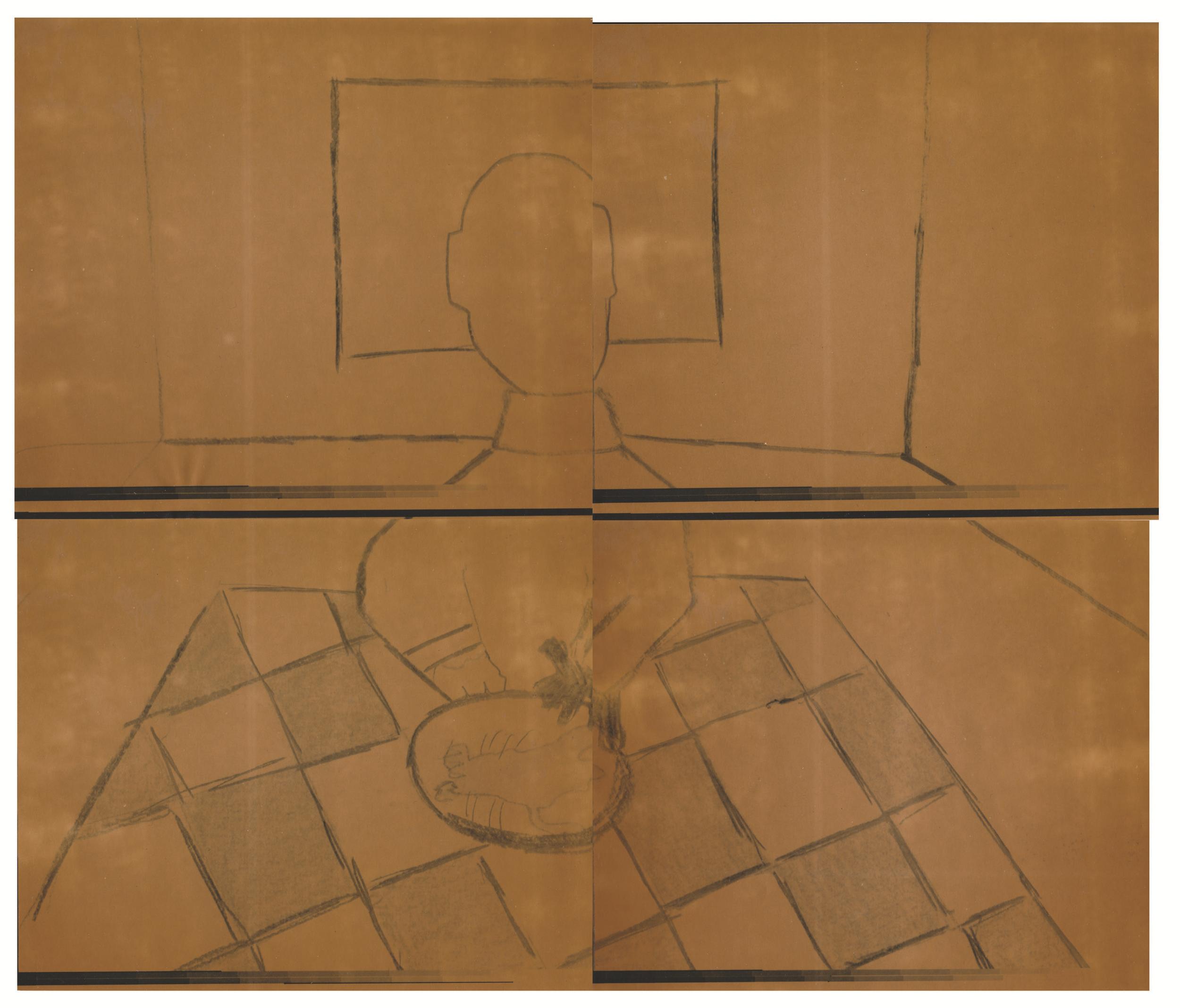 Document passé dans la machine photolaser. /  © Yvon Gallant 1982