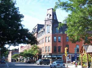 Downtown Brattleboro, Vermont