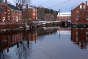 Harrisville is a unique, preserved 19th-century  mill town  located in the Monadnock region of southern New Hampshire.