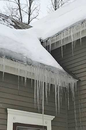 We can help you get out of the icicle making business - Start saving money on your heating bills and make your Hanover, NH home and business a whole lot more comfortable.
