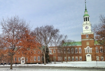 Hanover is home to Dartmouth college.