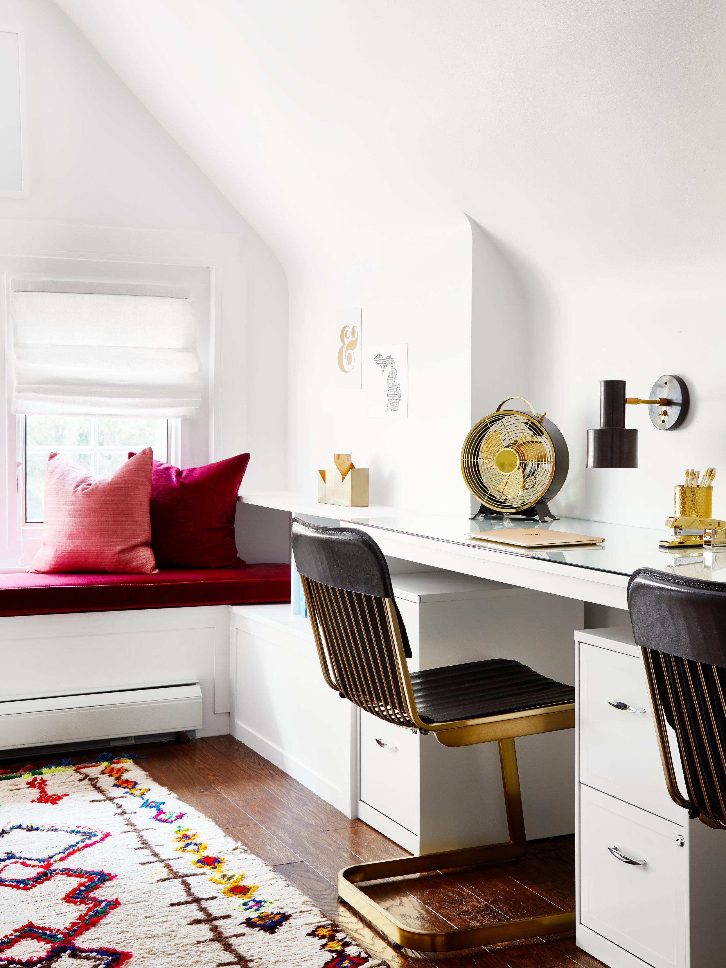 Jen Talbot Design Boho Office