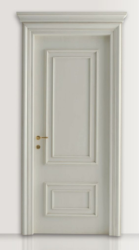 White Laquered Door by  New Design Porte