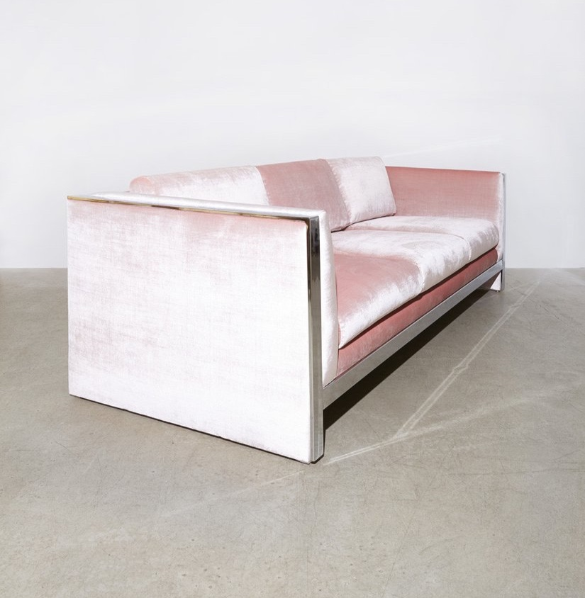 Milo Baughman, Chrome Sofa