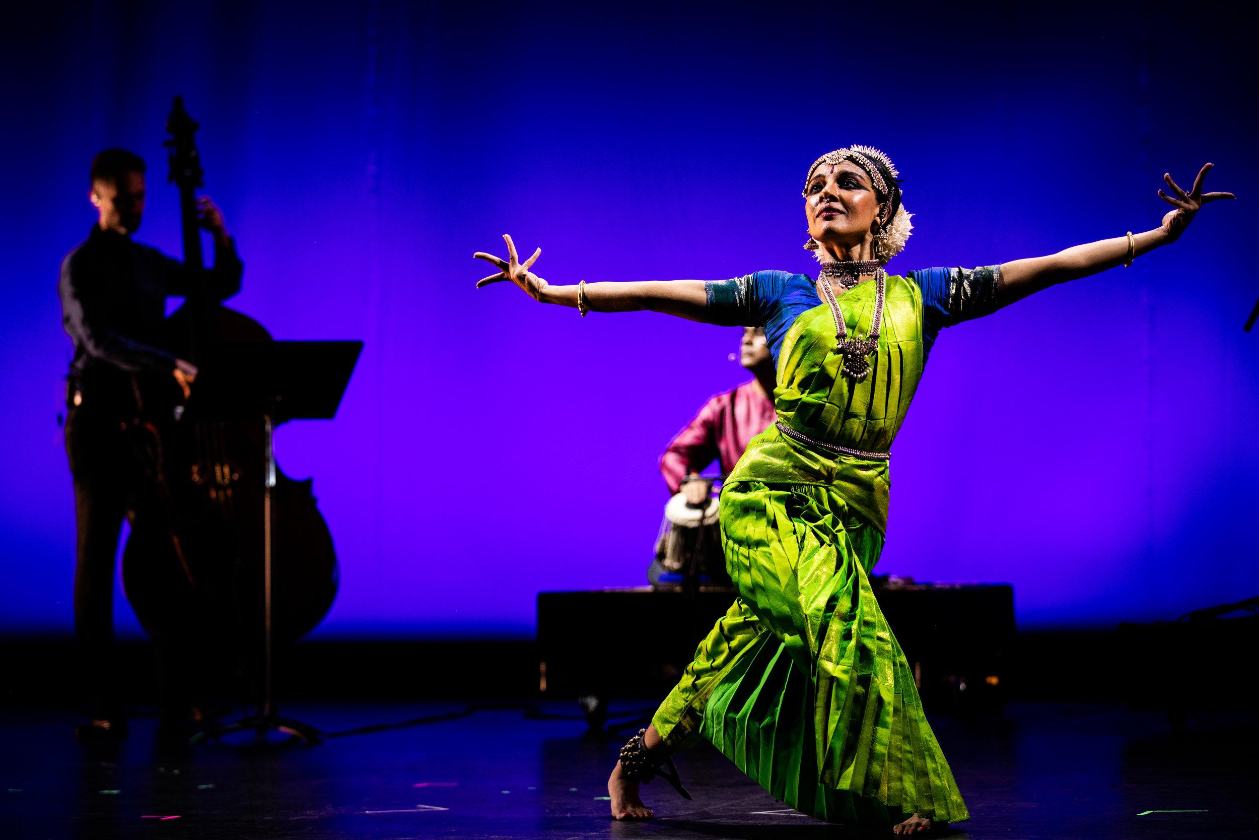 The Silk Road Ensemble at the Granada Theatre in Santa Barbara, California, April 26, 2019.