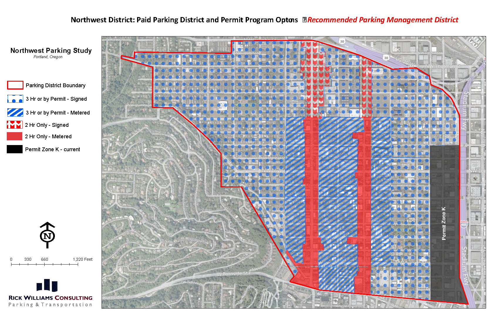 NW Portland Parking Plan (Portland, Oregon)