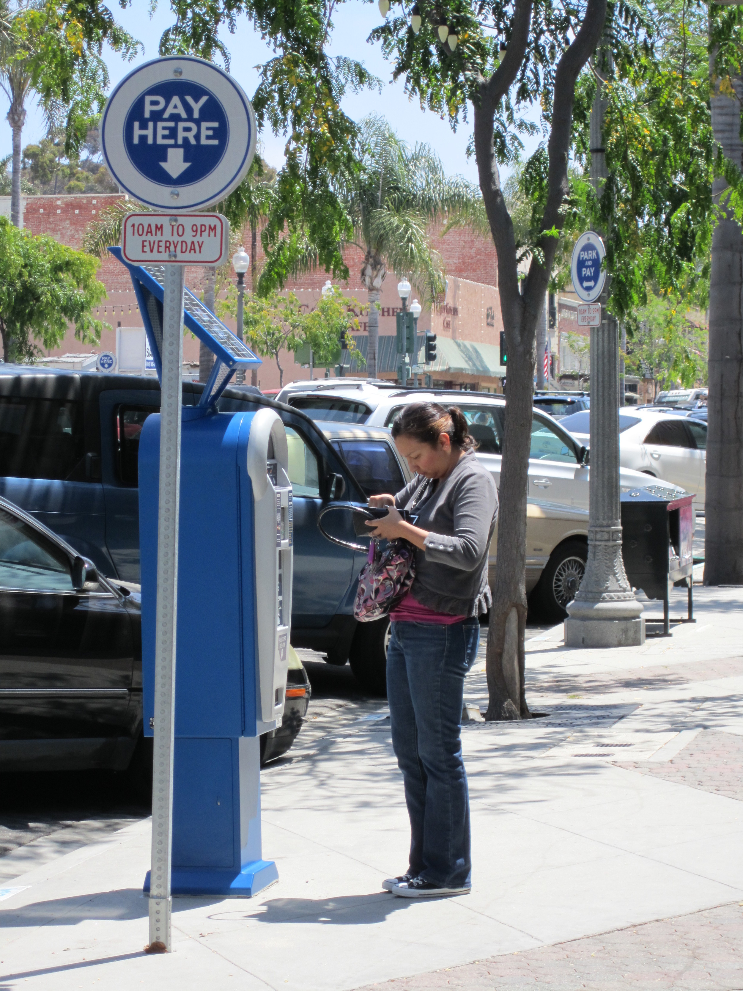 Parking technologies can be as simple as a sign or complex as real-time parking information and pay-by-cell metering. There is a wide range of choices, each with different strengths and weaknesses depending on the context used. RWC has the expertise to help you sort through all them and choose the system that makes the most sense from a both a user and management perspective.