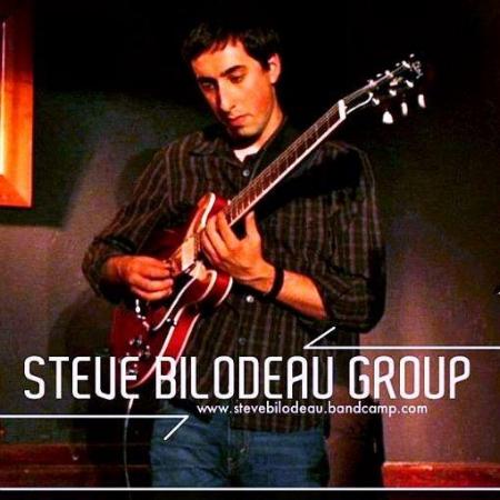 Album artwork for the  Steve Bilodeau Group EP  - Bilodeau's debut album.