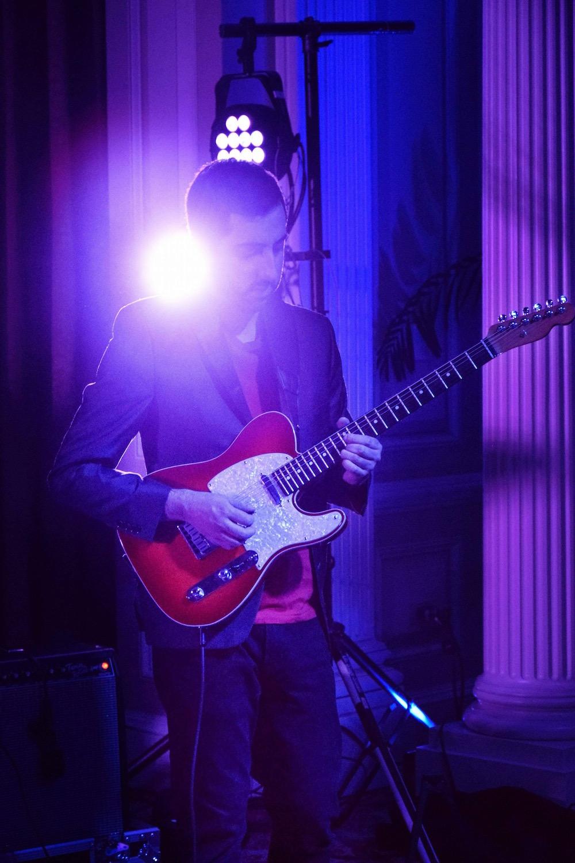 Guitarist Steve Bilodeau.