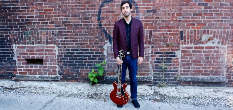 Guitarist Steve Bilodeau. Photo by Elena Snow.
