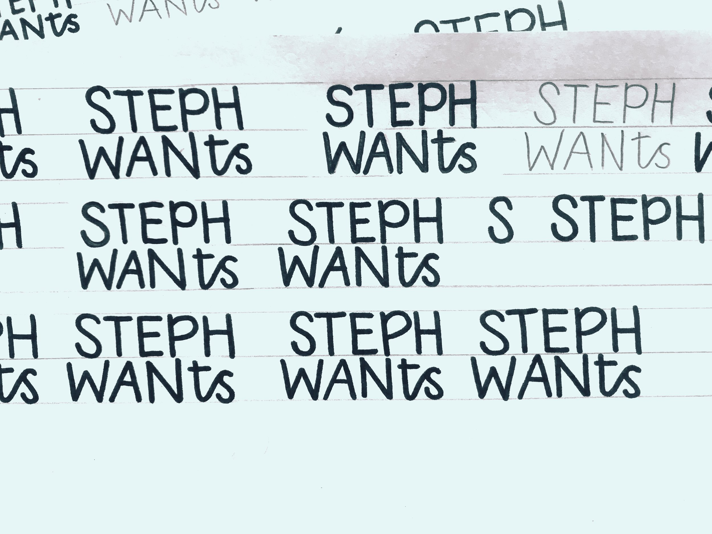 Steph Wants