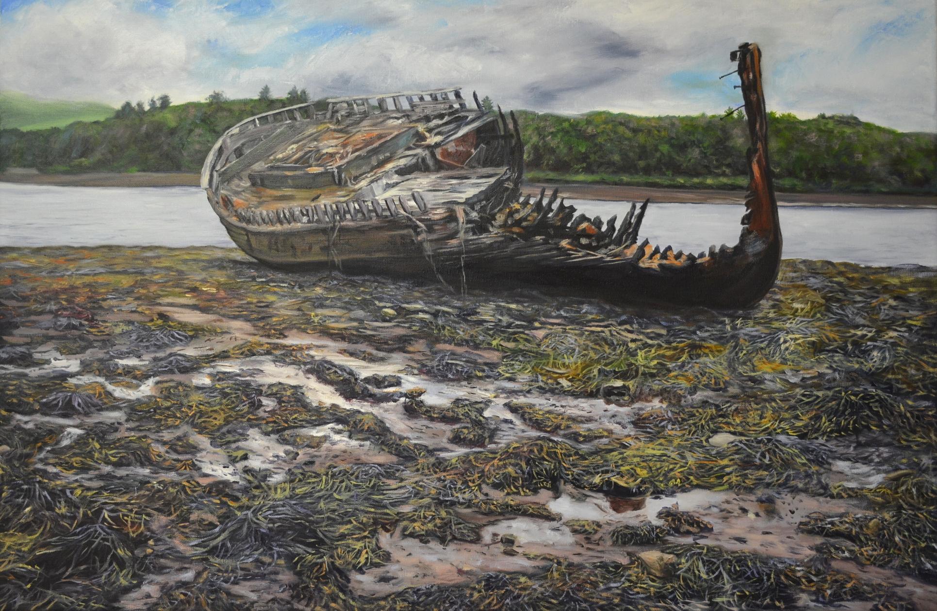 Abandoned Boat, Burnham Lagoon