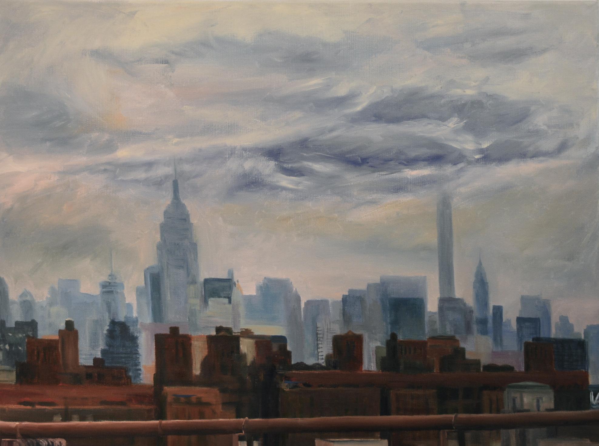 Midtown from the Brooklyn Bridge
