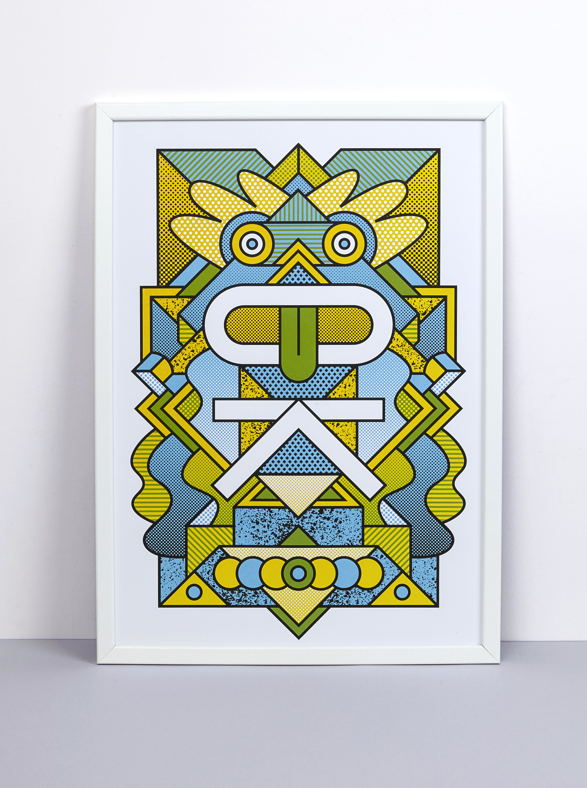Supermundane Limited Edition Screen Print - OK