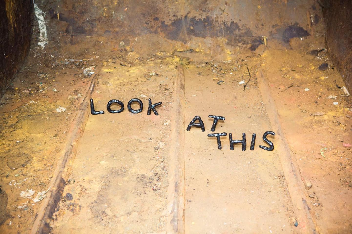 'Look at This' by David Shrigley
