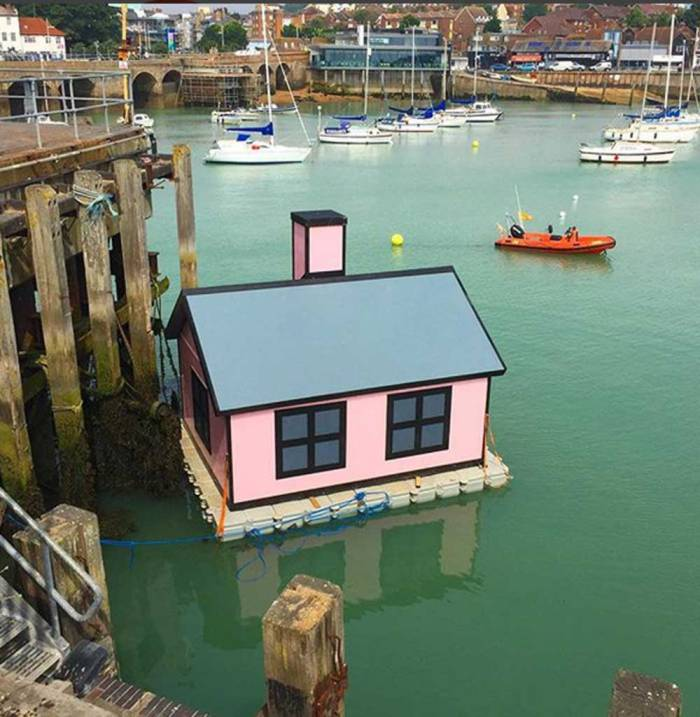 'Holiday Home' by Richard Woods at the Folkestone Triennial