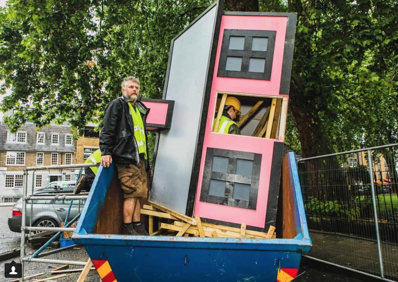 Richard installing 'Upgrade'