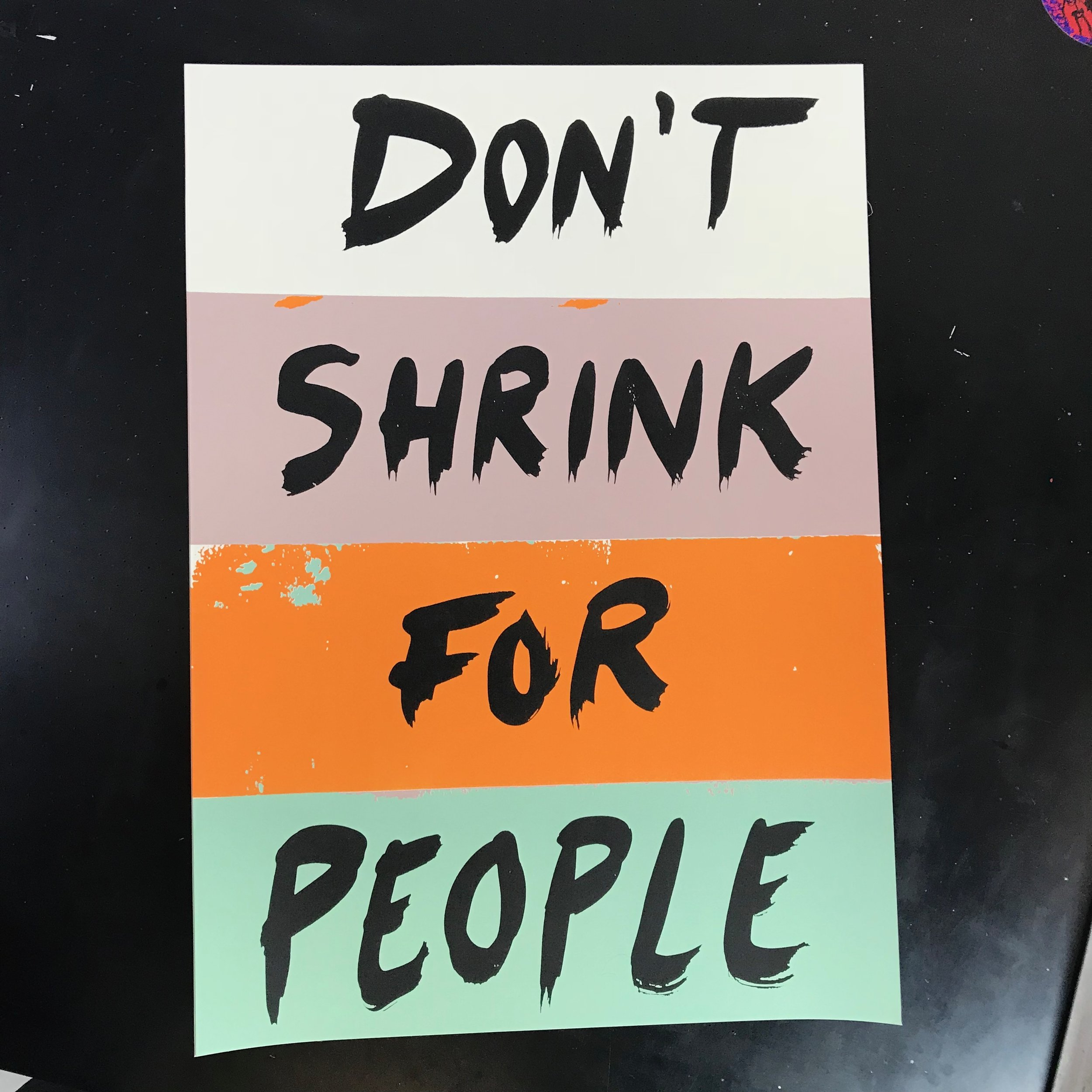 'Don't Shrink for People'