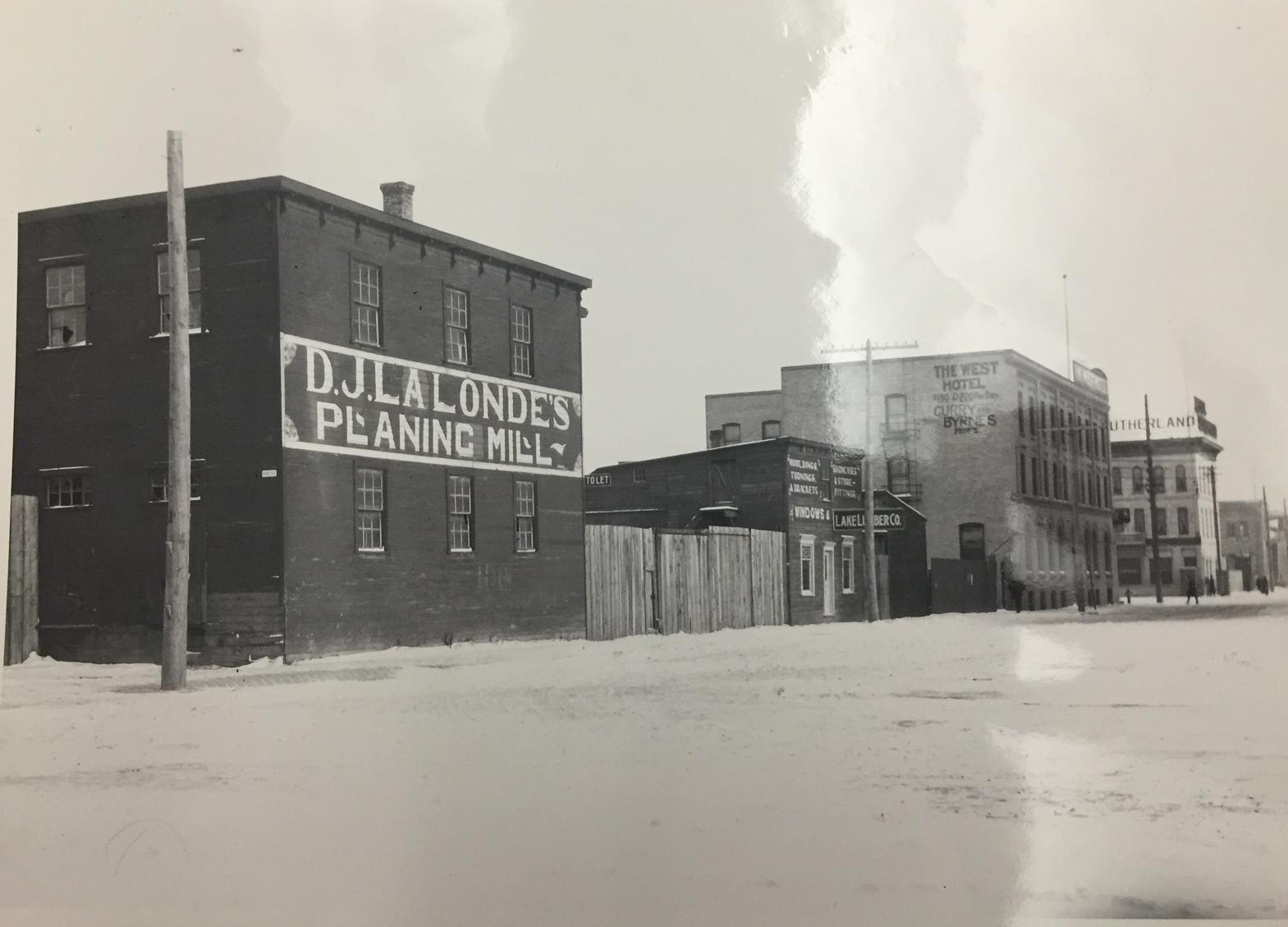 Sutherland Street circa 1910