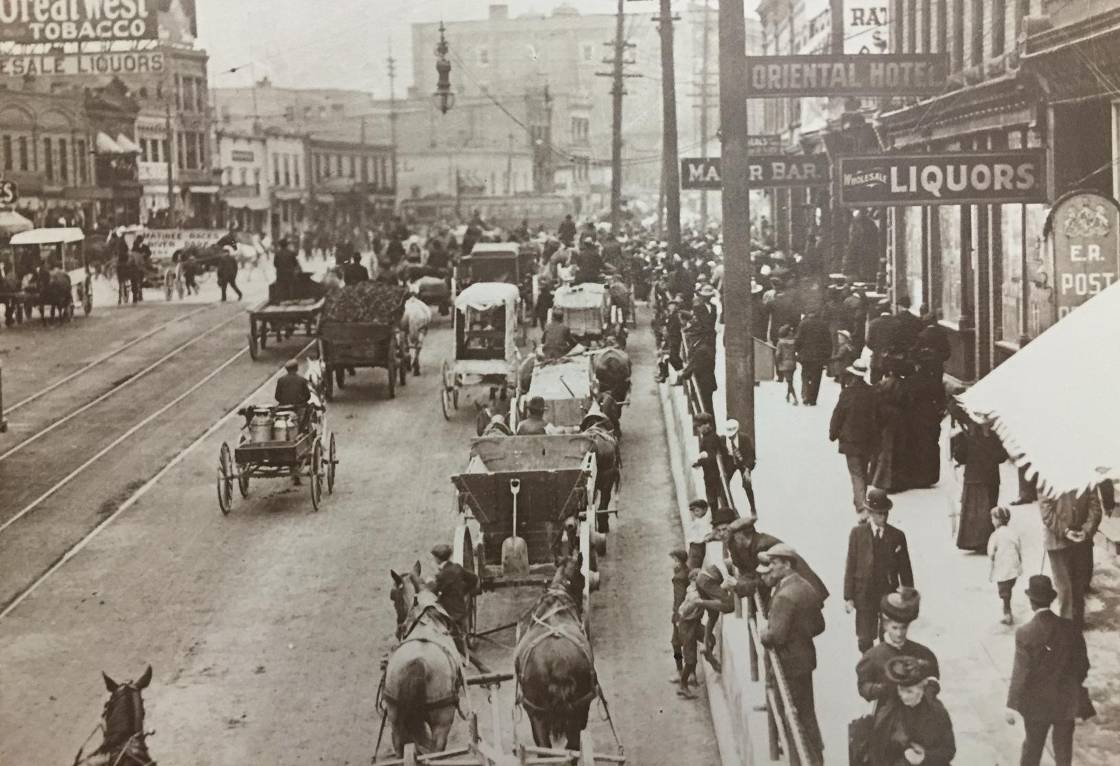 Main street circa 1904