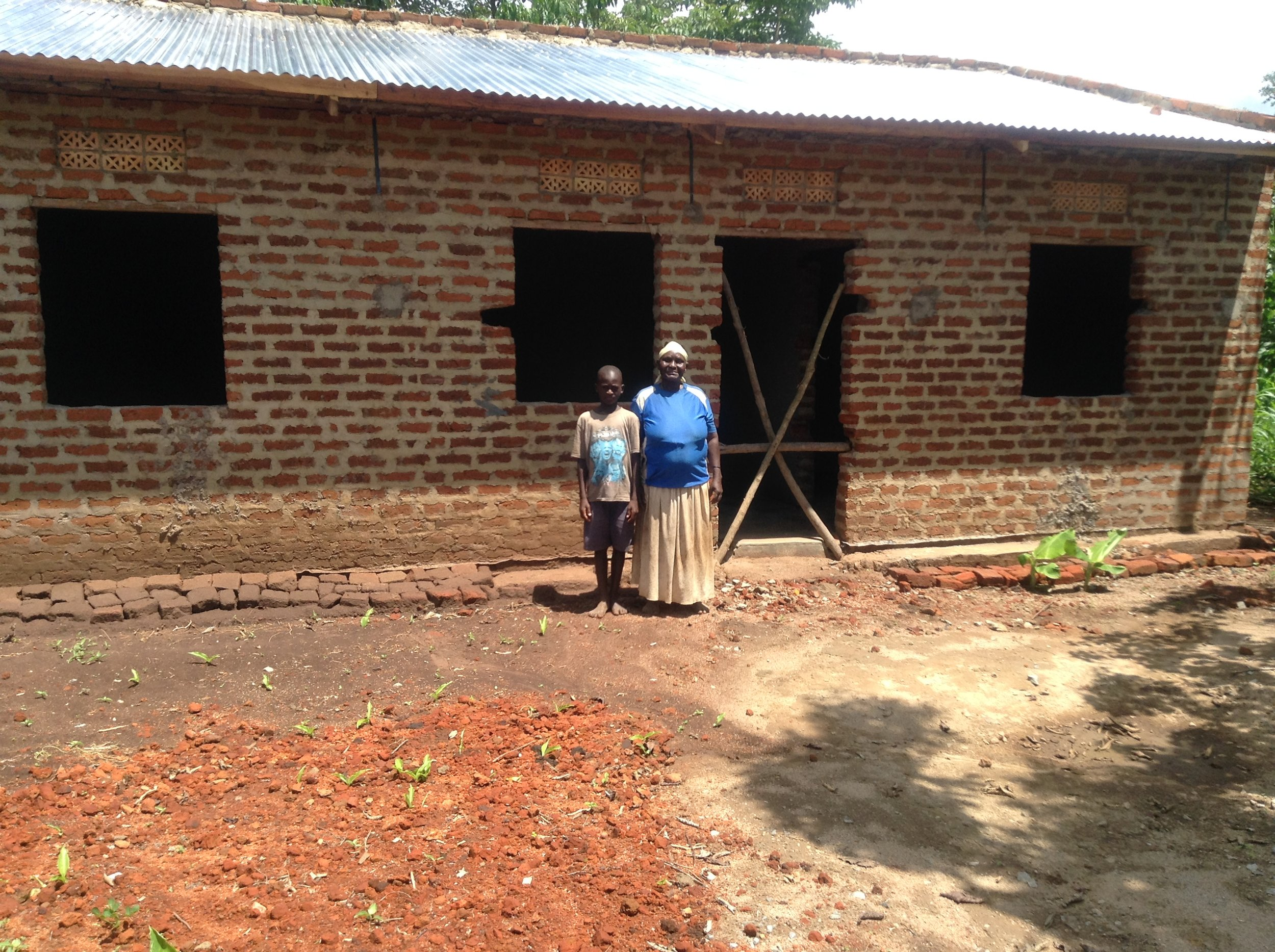 """Granny Mary Nandhego's new home and latrine. So happy and thankful!""IMG_2276 (1).JPG"