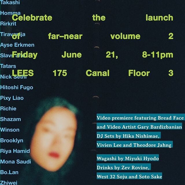 This Friday🙌🏻📖🎉 An artsy book is coming out by @far___near , @kittycitykid 🦜  My edibles are in the book and will be at the launch party on June 21st. Please RSVP and celebrate🙋🏻‍♀️ RSVP👇 https://fnv2.splashthat.com/ #art #artist #asian #booklaunchparty #wagashi #sweets #miu #edible #madeinny #summer