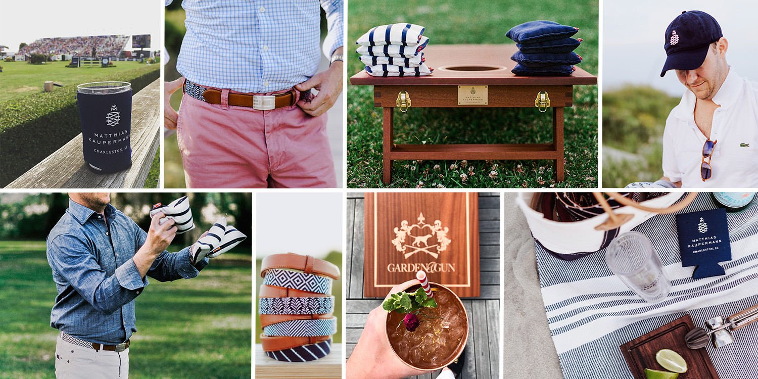 Matthias Kaupermann Luxury Cornhole Needlepoint Belts Life Refined Handcrafted Charleston Crafting The Journey.png
