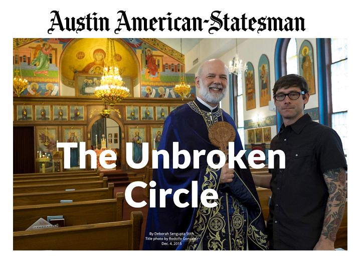 Article in Austin American-Statesman, December 6, 2015
