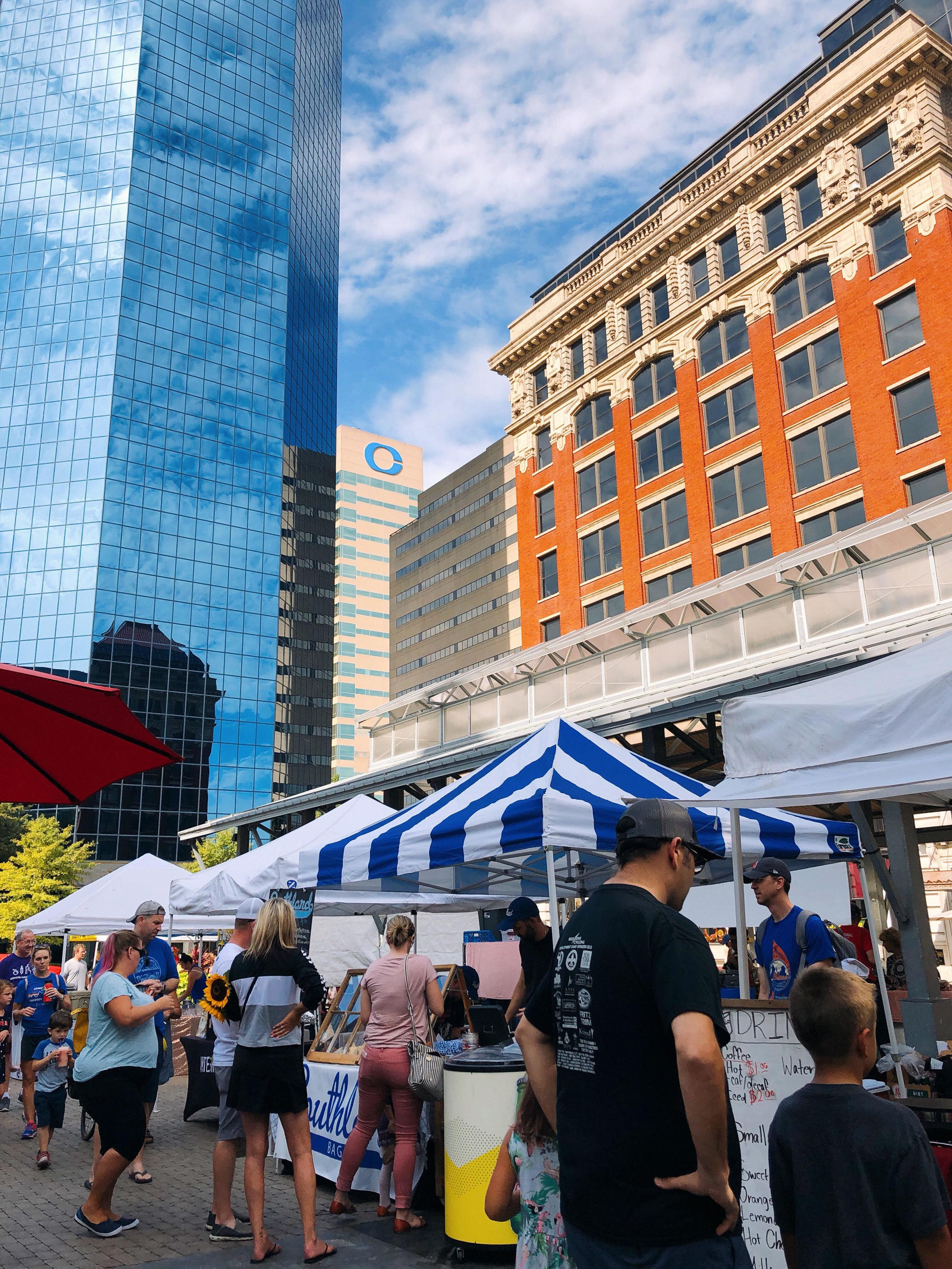 Farmer's Market in Downtown Lexington