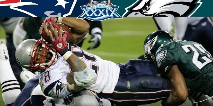 The New England Patriots & The Philadelphia Eagles