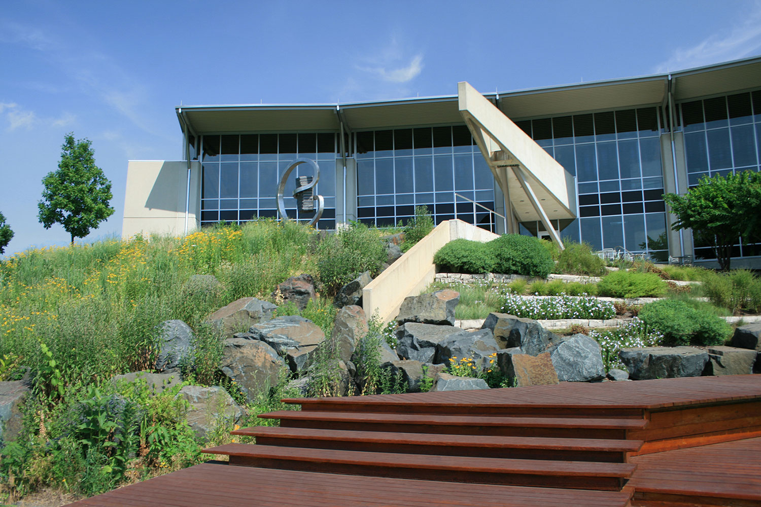 Tuthill Corporate Headquarters Campus. Photo from Conservation Design Forum.