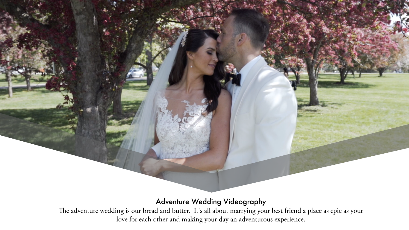 Adventure Wedding Videography  The adventure wedding is our bread and butter. It's all about marrying your best friend a place as epic as your love for each other and making your day an adventurous experience.
