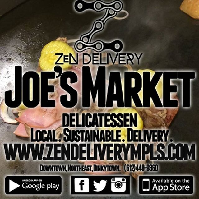 Always fast! Always delicious.  Download the app! Order online @ www.zendeliverympls.com  #zendelivery  #swaginthebag  #fooddelivery  #mplsfoodie  #minneapolis  #mpls  #bikemessenger  #messlife  #food  #foodie  #foodstagram  #foodgasm  #foodlove  #instafood  #delicious  #lunch  #dinner  #drink  #eat  #eatlocal  #whynot  #catering