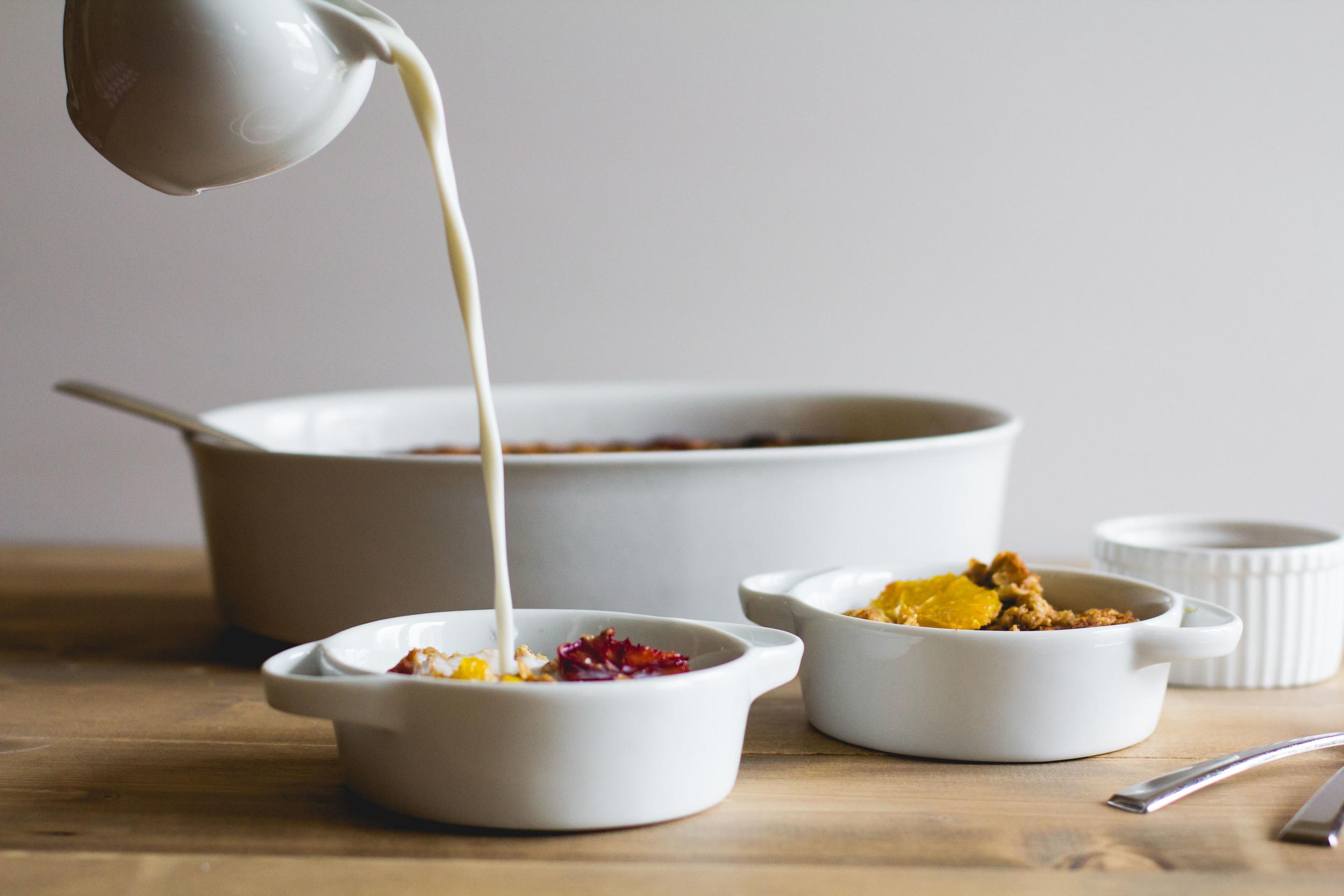 Dairy-Free Citrus Baked Oatmeal | Sarah J. Hauser