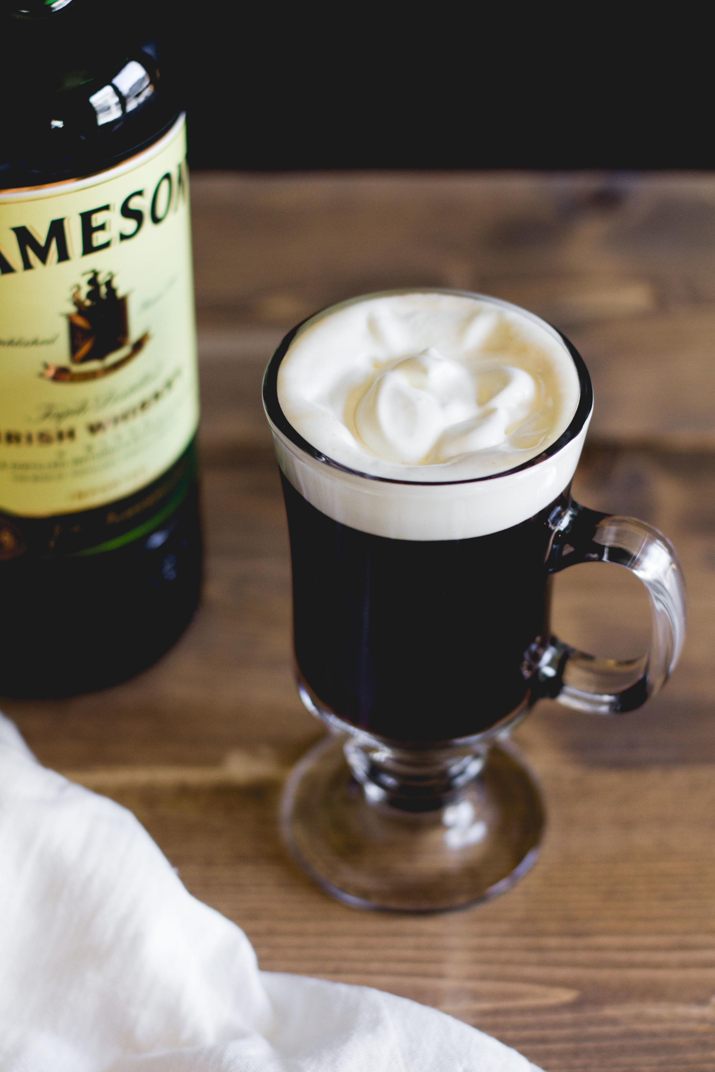 Traditional Irish Coffee | Sarah J. Hauser
