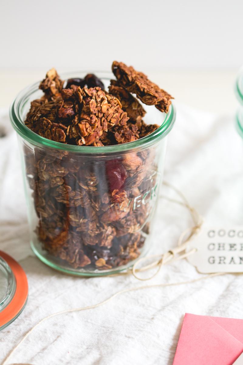 Big Cluster Cocoa Cherry Granola