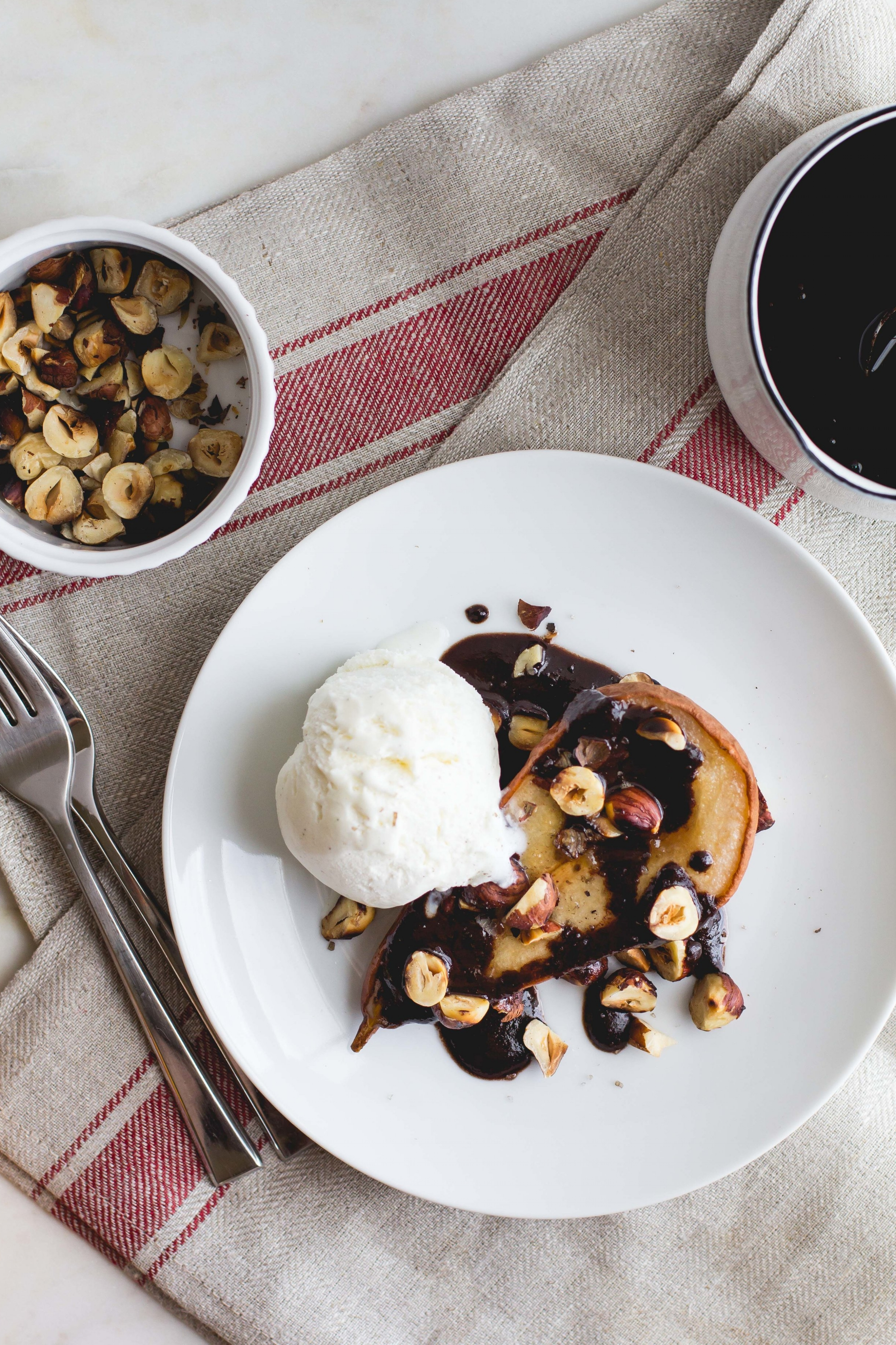 Roasted Pears with Buttery Chocolate Sauce + Smoked Sea Salt-8.jpg
