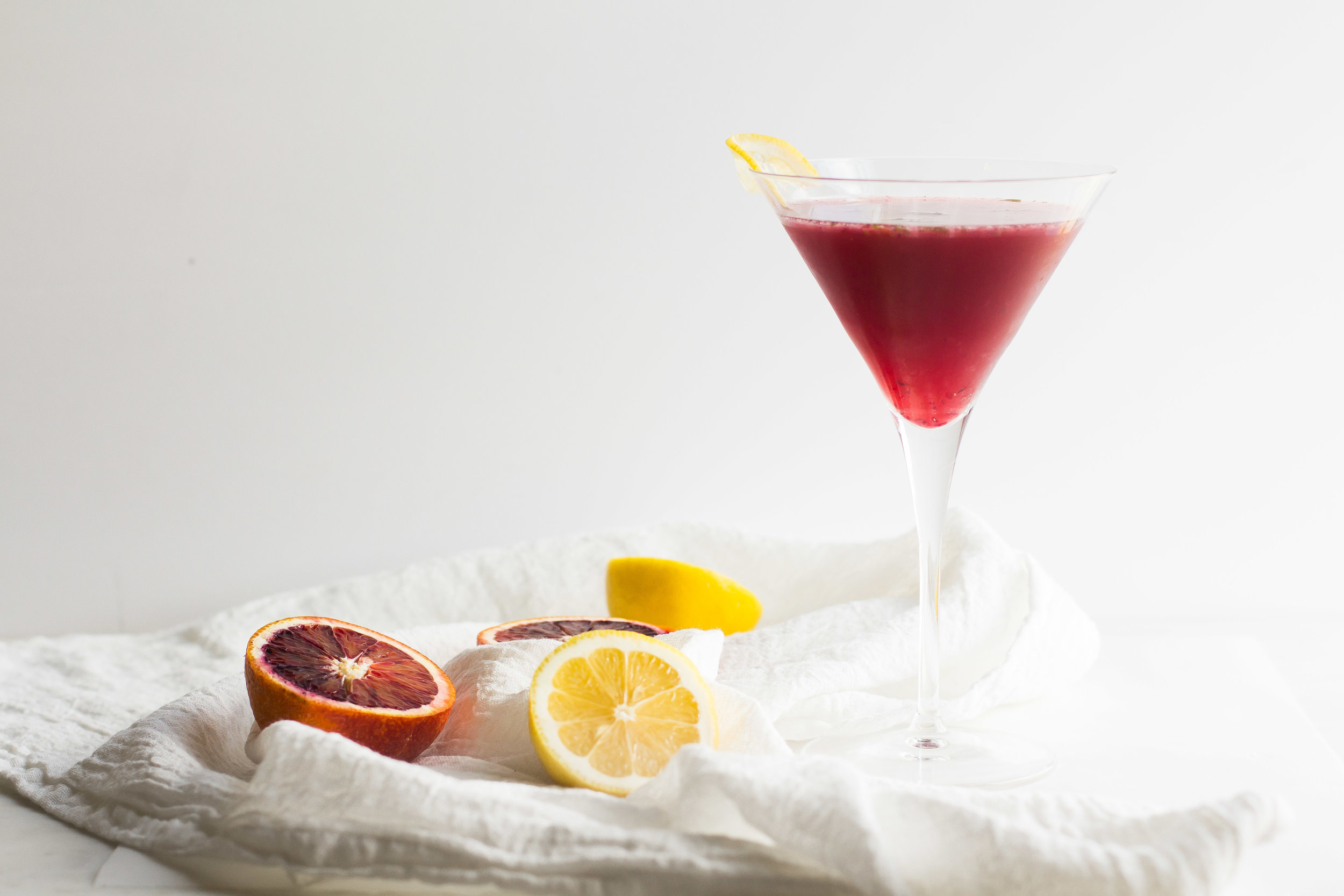 Citrus-Brandy Cocktail - Sarah J. Hauser