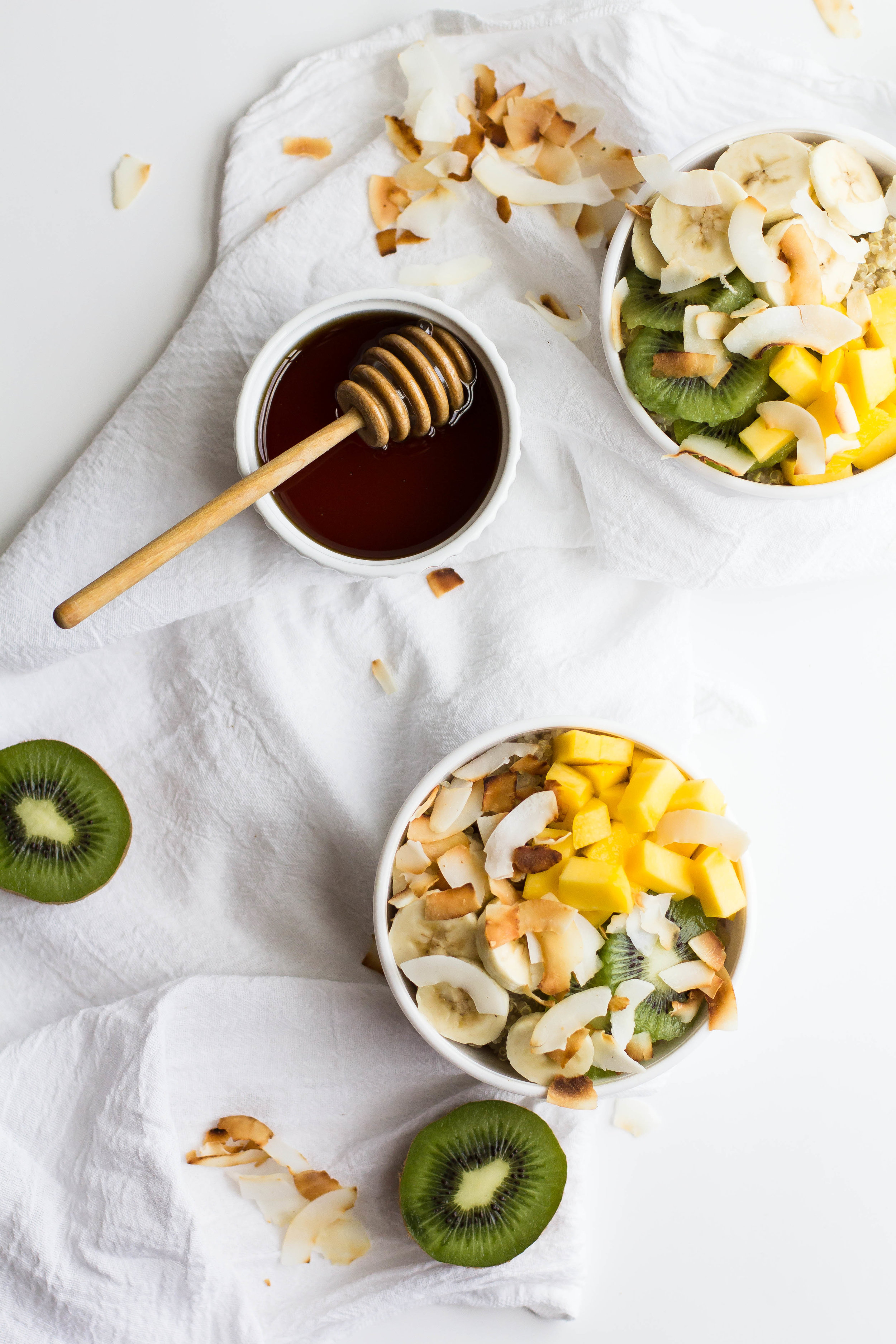 Tropical Quinoa Breakfast Bowl - Sarah J. Hauser